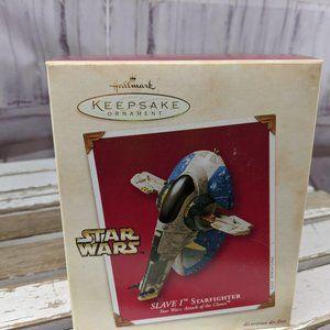 NIB Hallmark Keepsake SLAVE I Starfighter Star War